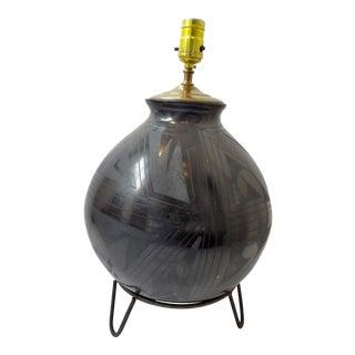 Nicolas Silveira Mata Ortiz Pottery Jar Table Lamp