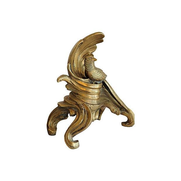 Image of Vintage Brass Pheasant Bookends - A Pair