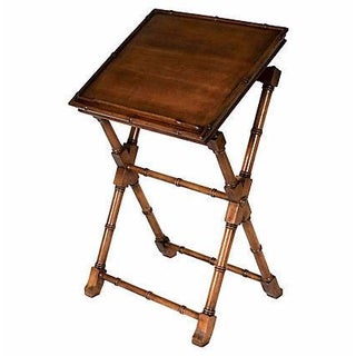 Brandt Faux Bamboo Writing Desk