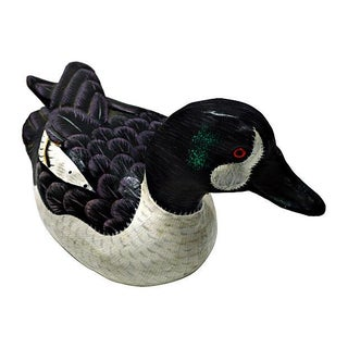 Hand Painted Wooden Decoy