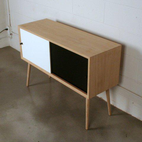 Via Cph Soaped Oak Danish Sideboard / Cabinet - Image 5 of 6