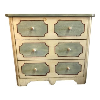 Antique French Painted Dresser