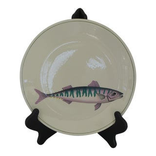 "Dinner Plate With Fish Atlantic Pattern by ""Villeroy & Boch"""