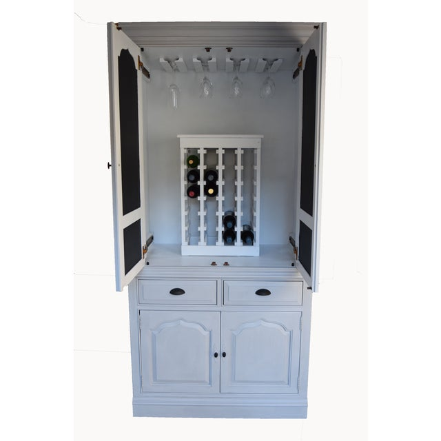 Traditional Home Bar Cabinet - Image 11 of 11