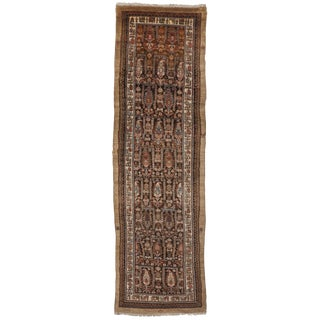 "Antique Persian Sarab Runner - 3'5"" x 11'10"""