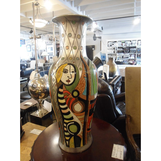 """""""Girl Before a Mirror"""" Picasso Vase - Image 7 of 7"""