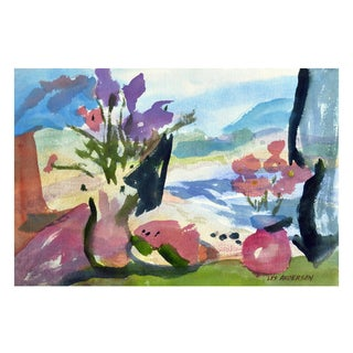 Les Anderson Watermelon Still Life Painting