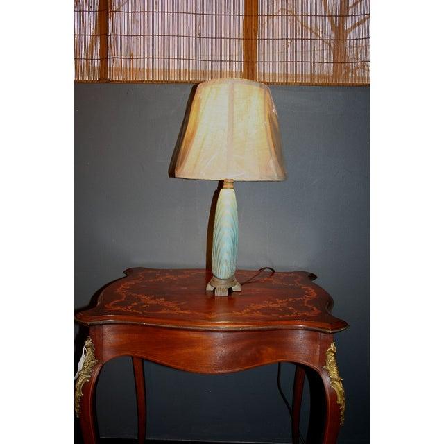 Scallop Seashell Lamp - Image 4 of 7