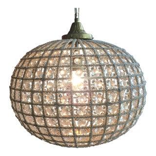 Spherical Crystal Chandelier