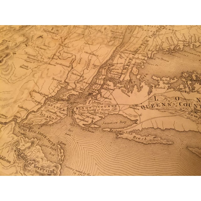 Image of Antique Map of New York Province