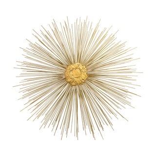 Vintage Large Gold Starburst