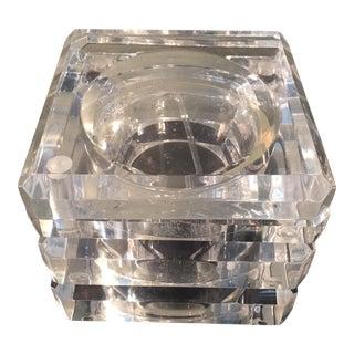 Mid-Century Modern Lucite Ice Bucket Barware