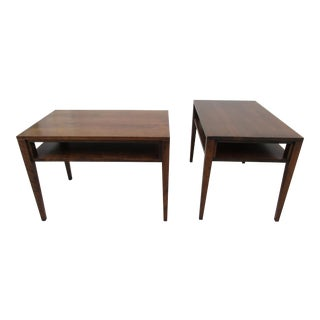 Conant Ball Accent or End Tables -A Pair