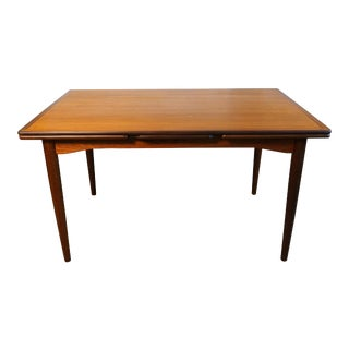 "Danish Modern Teak Dining Table - ""Violet"""