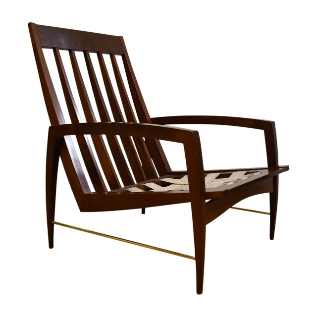 Mid Century Modern Lounge Chair - Image 1 of 11