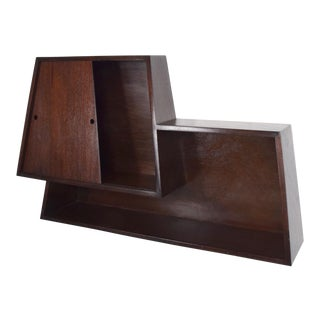 Mexican Modernist Wall Mounted Shelving System Storage