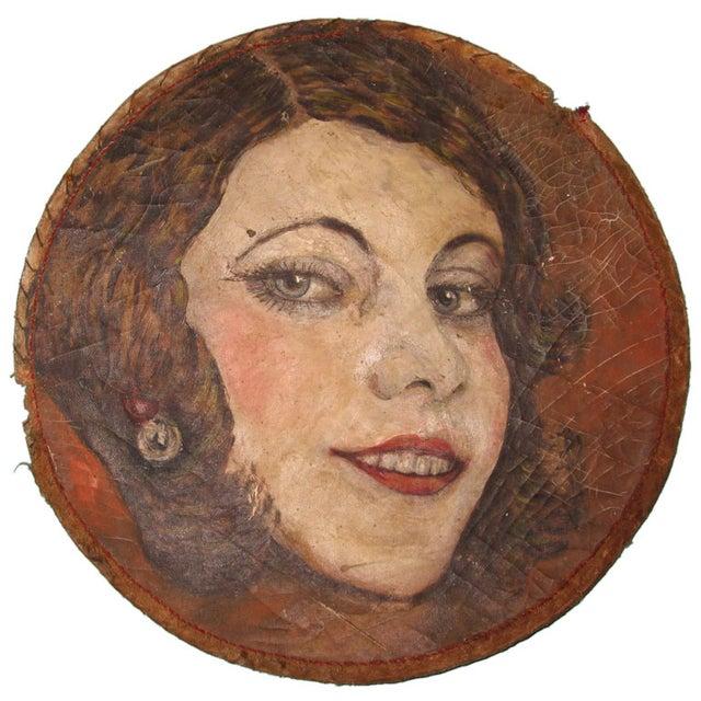 Art Deco 1930s Female Portrait - Image 1 of 3