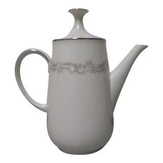 "Noritake 1965 Coffee Pot & Lid ""Marquis"""