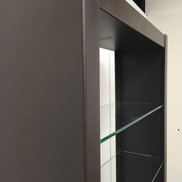 Black West Elm Steel Glass Shelf Chairish