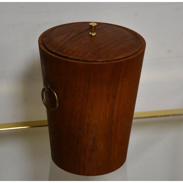 Mid-Century Teak Ice Bucket - Image 3 of 8
