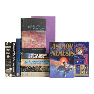 Asimov Sci-Fi Book Selections - Set of 11