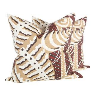 Custom Ryst Ferns Uni Pillows - A Pair