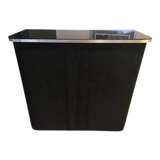 Art Deco Black Velvet Bar