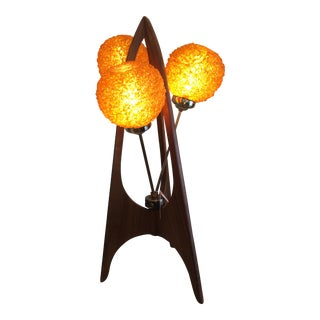Original Mid-Century Modern Tripod 'Spaghetti' Lamp