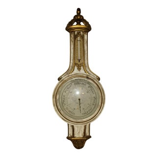 Vintage Large French Wall Barometer