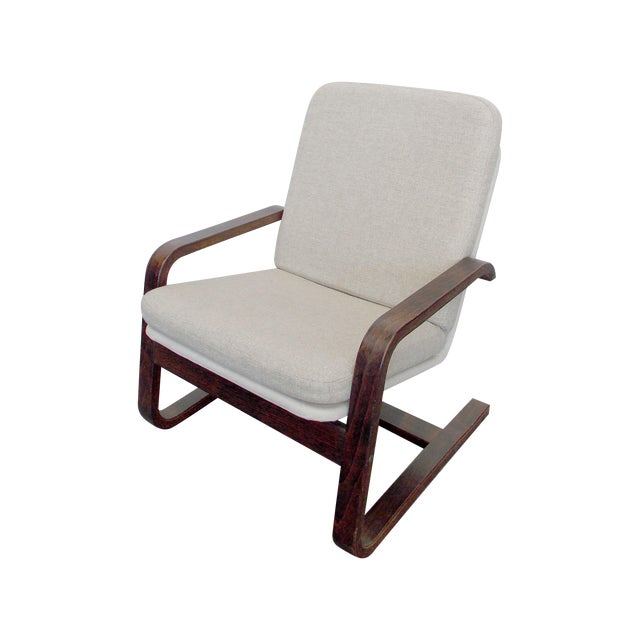 Bentwood Lounge Chair - Image 1 of 8