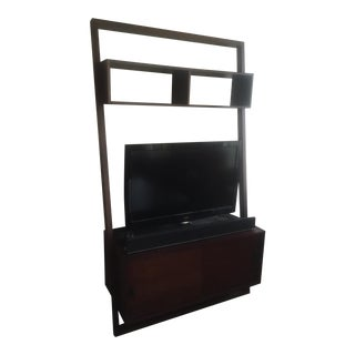 Crate and Barrel Leaning Entertainment Center