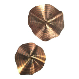 Curtis Jere Copper Wall Sculptures - A Pair