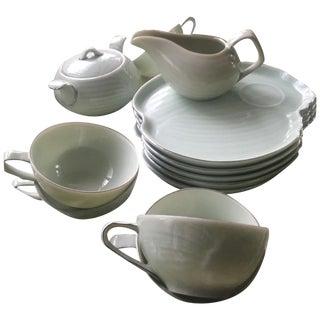 Mid Century Modern Tea & Crumpet Set