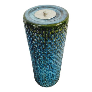 Bitossi Raymor Tall Pottery Ashtray / Floor Vase