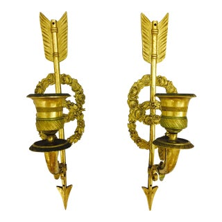 19th Century Directoire Sconces - A Pair