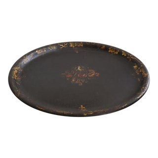 19th Century Painted Tôle Tray from Italy