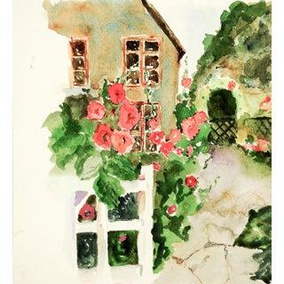 English Garden Watercolor