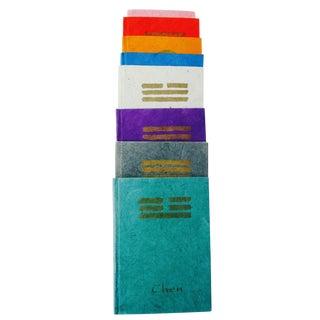 Handmade Zen Yoga Paper Books - Set of 8