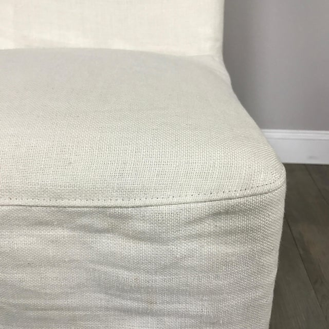 Slipcover Dining Chairs - A Pair - Image 4 of 7