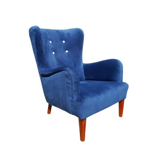 A.J. Iversen Danish Wingback Chair