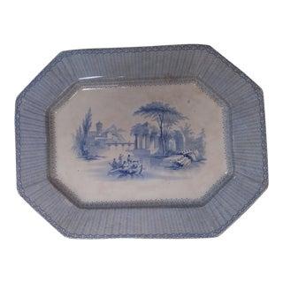 Transferware Platter Circa 1825