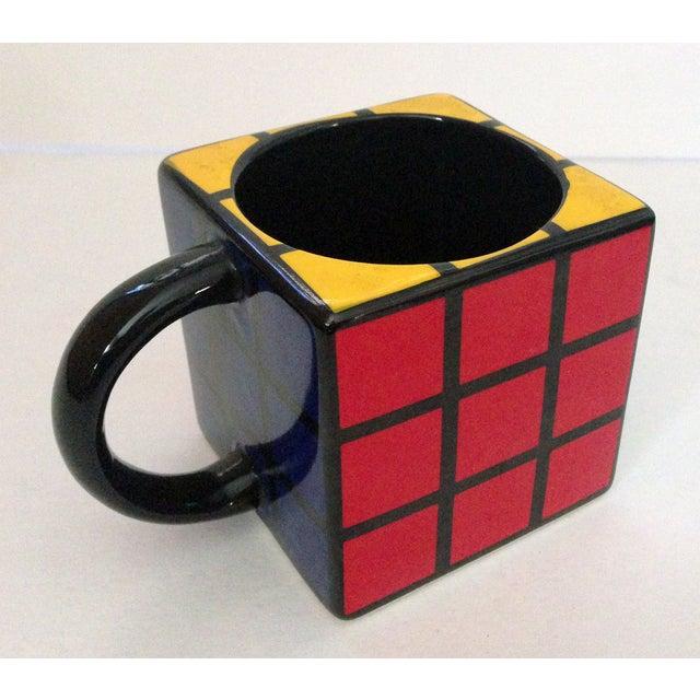 Spinning Retro Rubik's Cube Ceramic Mug - Image 2 of 7