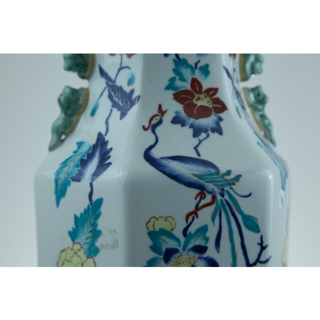 Chinese Porcelain Lamp - Image 4 of 4