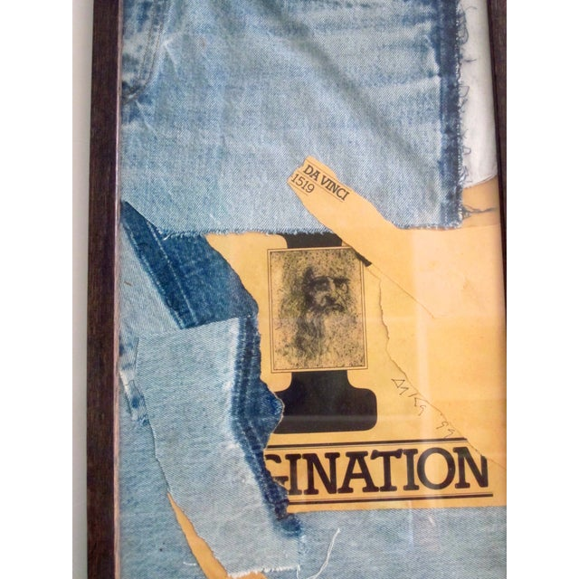 Original Mixed Media Collage Titled Imagination - Image 7 of 7