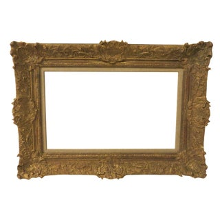 Vintage 20th Century French Style Gilded Frame