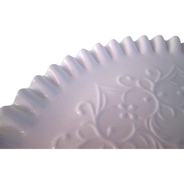 Fenton Spanish Lace Cake Plate - Image 4 of 5