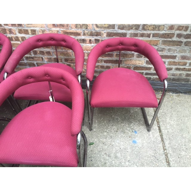 Vintage Thonet Anton Lorenz Chairs - Set of 6 - Image 5 of 11