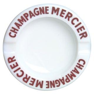 Vintage French Mercier Champagne Ashtray