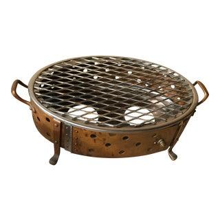 Vintage Legion Scavullo Copper and Ss Double Warmer Dish