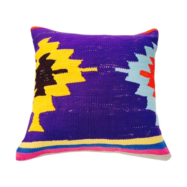 Image of Vintage Turkish Kilim Pillow